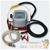 Pompe à gasoil - mazout - diesel 40l/m 150W 24V avec compteur et pistolet