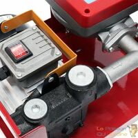 Pompe à Gasoil, Mazout, Diesel, 50l/m, 550W, 230V, Compteur + pistolet