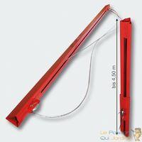 Lève-Monte Plaques De plàtre, Placo, Rouge Avec Extensions, Haut. 465cm - Rouge