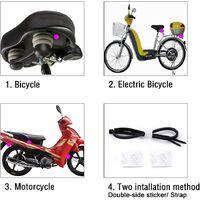 113dB Wireless Motorrad Fahrrad Diebstahl Alarmanlage, wasserdicht und Super laut