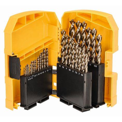 DeWalt DT4957 Juego de brocas de metal HSS-Co de 29 piezas en cassette
