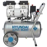 Hyundai 55752 Compresor silencioso sin aceite - 8 bar - 24L