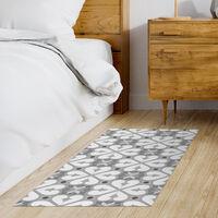 Storplanet tapis vinyle PVC Recyclable Croma Bcn en gris 50 x 110 cm