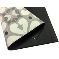 Storplanet tapis vinyle PVC Recyclable Croma Sourise 45 x 75 cm