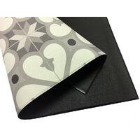 Storplanet tapis vinyle PVC Recyclable Croma Sourise 50 x 110 cm