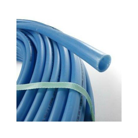 Tubo PER desnudo 10x12- 120m azul