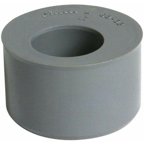 Reductor de PVC incorporado, macho 63mm, hembra 32mm