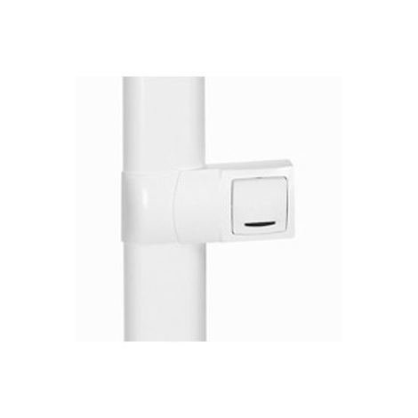 Legrand 031450 - Cadre app. saillie 1 poste - pose le long des plinthes DLPlus ép. 20 - blanc