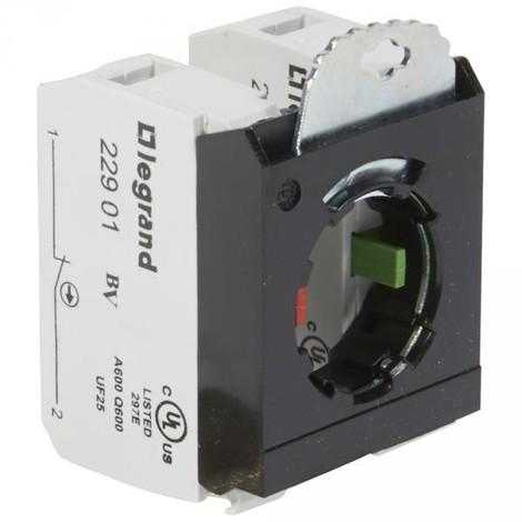 Legrand 022976 - Osmoz compo - sous-ensemble bloc - tête non lumineuse - à vis - NO+NF - 3 postes