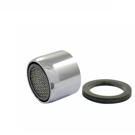 Mousseur robinetterie F 22 x 1 avec joint - chrome