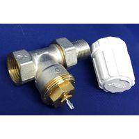 "Adesio 07110400 - Corps thermostique radiateur RBM 1/2"" - Valvola Diritta ferro"