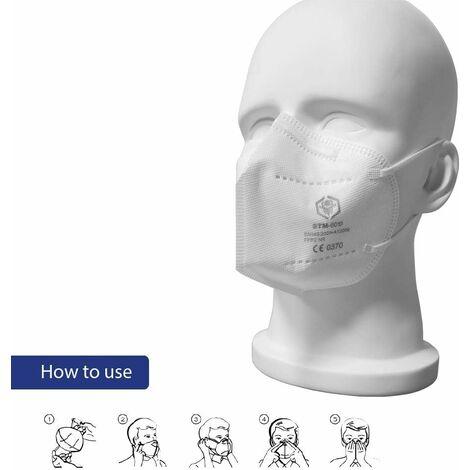 50 Masques FFP2 certifiés