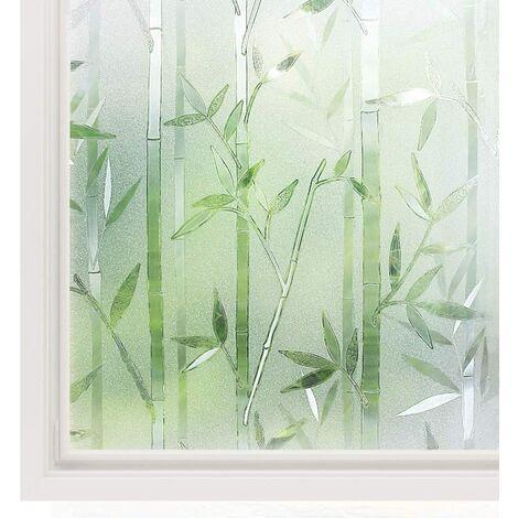 Film Intimité pour Vitre Statique Décoratif Film Adhésif Fenêtre Vitrage Autocollant 60 cm × 200 cm Motif