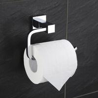 Porte-papier hygiénique Support mural adhésif Porte-rouleau de papier toilette Porte-papier hygiénique en acier inoxydable pour salle de bain--Porte-papier hygiénique série 660