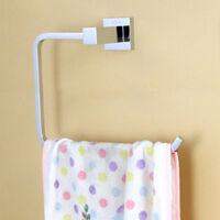 Porte-papier hygiénique Support mural adhésif Porte-rouleau de papier toilette Porte-papier hygiénique en acier inoxydable pour salle de bain--Anneau porte-serviettes série 660