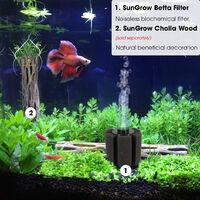 Filtre Betta éponge biochimique pour aquarium adapté aux alevins et petits poissons