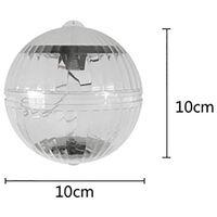 2 pcs Floating Pool Lights Solaire Alimenté par Batterie Fleurs Gonflable Étanche Glow Globe, Piscine Extérieure Balle Lampe Colorée Changement LED Night Light Party Wedding Decor pour Natation