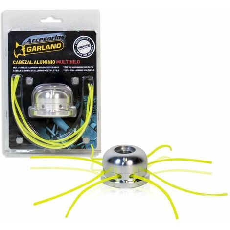 Garland Cabezal Desbrozadora Aluminio 8 Hilos Multihilo