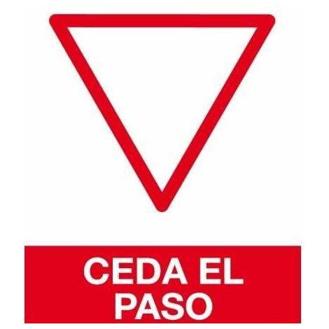 Cartel Pvc 21* 30 Ceda El Paso