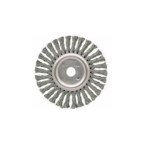 Bellota Cepillo Alambre 50811-175 Circular Taladro Acero Trenzado