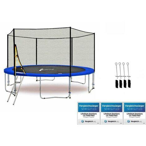 LS-T370-PA12 (BA) LifeStyle ProAktiv Trampoline pour le jardin - 370cm - 12ft