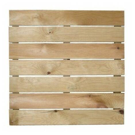 Dalle madera autoclave 50x50 cm.