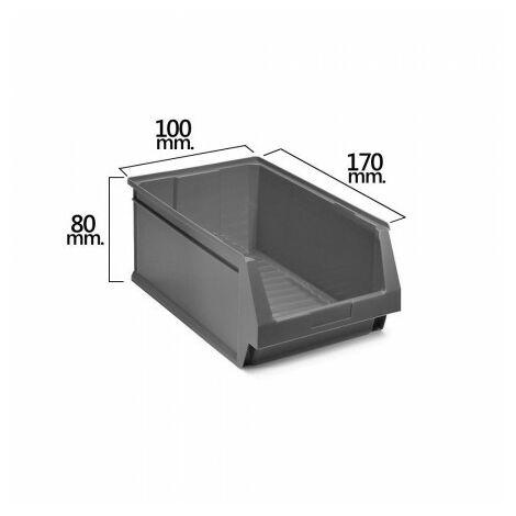 Tiroir empilable stockage gris nº51 170x100x80 mm. (1/6)