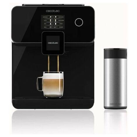 Machine à café automatique power matic-ccino 8000 touch serie nera cecotec