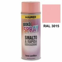 Spray peinture rose clair 400 ml.