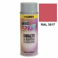 Spray peinture rose 400 ml.