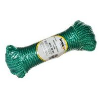 Bobine 20 mt. corde plastique 4mm. vert