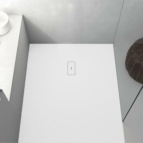 Plato de ducha resina FUSION BLANCO 70x140cm