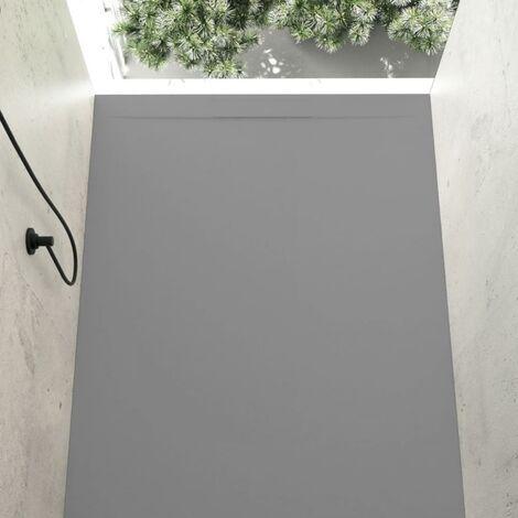 Plato de ducha resina COVER CENIZA 80x120cm