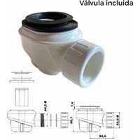 Plato de ducha resina FUSION NEGRO 80x120cm