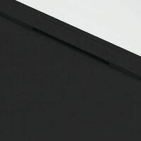 Plato de ducha resina COVER NEGRO 80x120cm