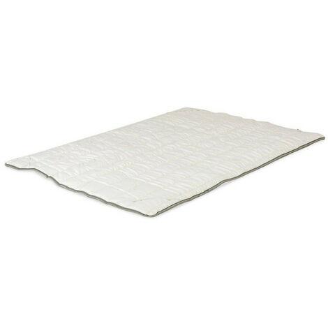 Topper 6cm, de viscoelastica, Modelo SUN MEMORY, 80 x 180 x 6cm - El Almacén del Colchon - Blanco