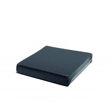 Cojín antiescaras viscoelástico. Funda de PU antideslizante - 42 x 42 x 7 cm - El Almacén del Colchon - Azul oscuro
