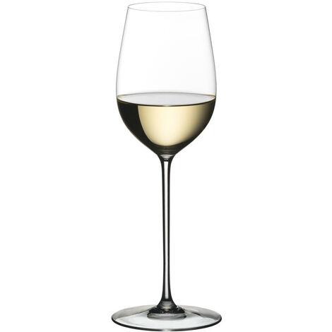 Riedel Superleggero Viognier / Chardonnay Weissweinglas, Weinglas, Hochwertiges Glas, 475 ml, 4425/05