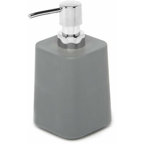 Umbra Scillae Seifenspender, Seifen Spender, Seifenpumpe, Seifenbehälter, Melamin, Anthrazit, 300 ml, 1010024-149