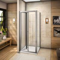 80x90x185cm cabine de douche porte de douche pliante paroi de douche