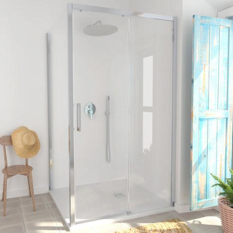 Porte de douche coulissante une porte New Lisboa - 110 cm