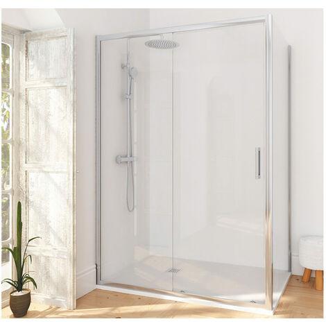 Porte de douche coulissante une porte Manhattan - 110 cm