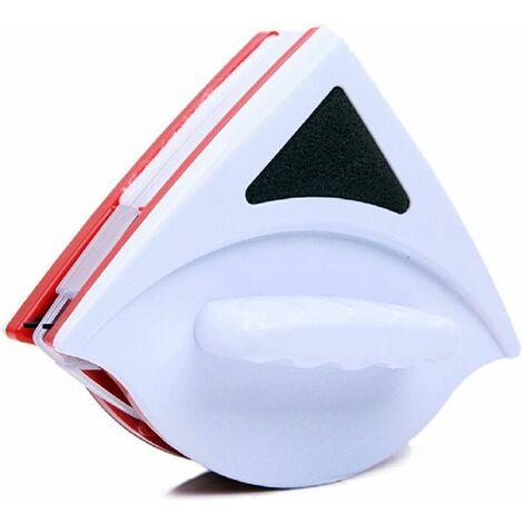 Nettoyeur de vitres magnétique double face, ultra résistant des deux côtés avec poignée ergonomique pour vitres vitrées 15-23mm Voir image