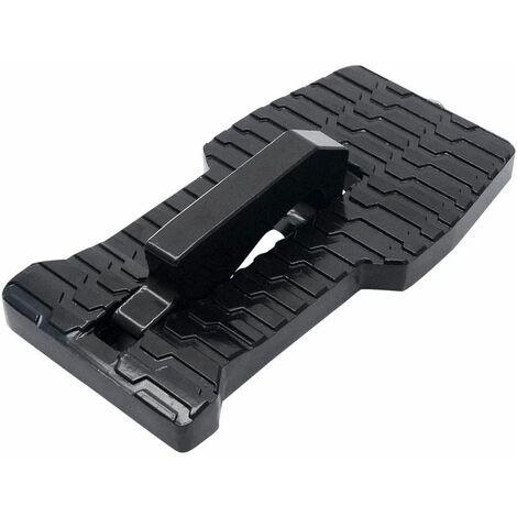 l'auto avec Marteau de sécurité, Pliable de Voiture à pédale/d'appui/Step véhicule Hooked on en Forme de U Loquet Pied Échelle de Voiture pour SUV Voiture Noir