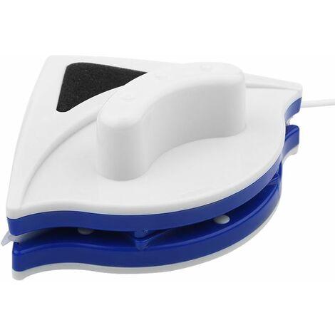 Lave Vitre Magnétique Nettoyeur de Vitres Double Latérale Outil de Nettoyage Brosse d'essuie-Glace pour Nettoyeur de Surface pour fenêtres à Grande vitrage avec épaisseur de 3-8mm