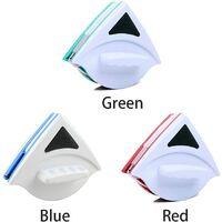 Nettoyeur de vitres magnétique double face, ultra résistant deDeux côtés avec poignée ergonomique pour vitres vitrées 15-23mm Voir image