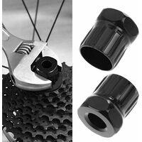 Outil de Maintenance pour Vélo, 5pcs Outil de Retrait de Cassette de Vélo, Kit D'outils de Réparation de Vélo, Outil de Démontage de Cassette de Vélo, Outil Séparateur de Chaîne