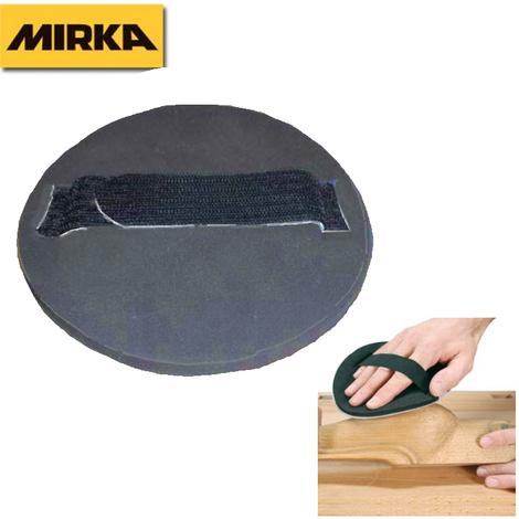 Plato lijador manual con velcro Mirka