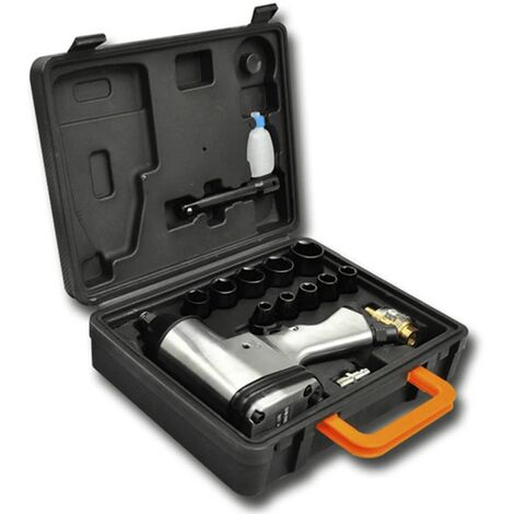 """16 Piece Air Impact Wrench Set 1/2"""""""