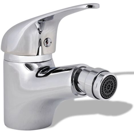 Bathroom Bidet Mixer Tap Chrome - Silver